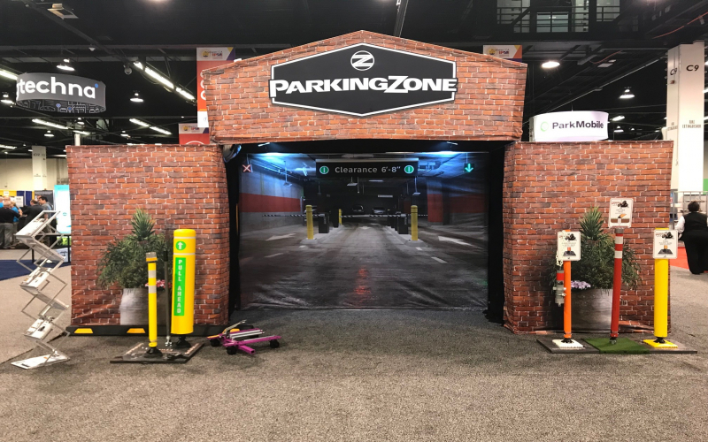 MAJOR Construction at The ParkingZone's 2019 IPMI Tradeshow Booth!